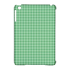 Green Tablecloth Plaid Line Apple Ipad Mini Hardshell Case (compatible With Smart Cover) by Alisyart