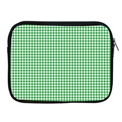 Green Tablecloth Plaid Line Apple Ipad 2/3/4 Zipper Cases by Alisyart