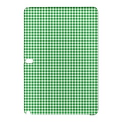 Green Tablecloth Plaid Line Samsung Galaxy Tab Pro 10 1 Hardshell Case