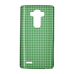Green Tablecloth Plaid Line Lg G4 Hardshell Case