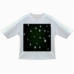 Graphics Green Leaves Star White Floral Sunflower Infant/toddler T Shirts by Alisyart