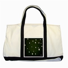 Graphics Green Leaves Star White Floral Sunflower Two Tone Tote Bag