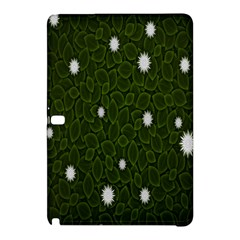Graphics Green Leaves Star White Floral Sunflower Samsung Galaxy Tab Pro 10 1 Hardshell Case by Alisyart