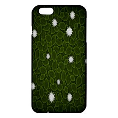 Graphics Green Leaves Star White Floral Sunflower Iphone 6 Plus/6s Plus Tpu Case by Alisyart