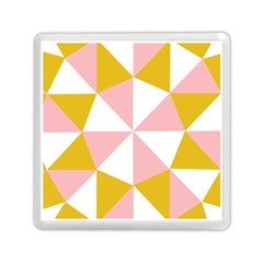 Learning Connection Circle Triangle Pink White Orange Memory Card Reader (square)  by Alisyart