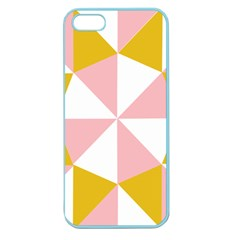 Learning Connection Circle Triangle Pink White Orange Apple Seamless Iphone 5 Case (color) by Alisyart