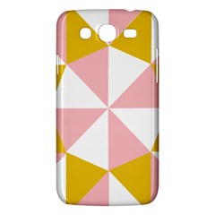Learning Connection Circle Triangle Pink White Orange Samsung Galaxy Mega 5 8 I9152 Hardshell Case  by Alisyart