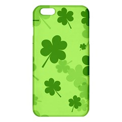 Leaf Clover Green Line Iphone 6 Plus/6s Plus Tpu Case by Alisyart