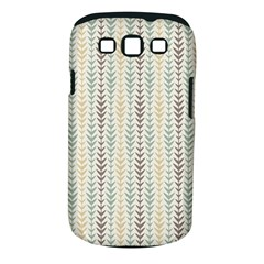 Leaf Triangle Grey Blue Gold Line Frame Samsung Galaxy S Iii Classic Hardshell Case (pc+silicone) by Alisyart
