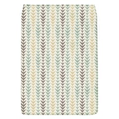 Leaf Triangle Grey Blue Gold Line Frame Flap Covers (s)  by Alisyart