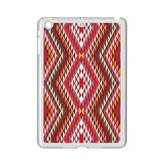 Indian Pattern Sweet Triangle Red Orange Purple Rainbow Ipad Mini 2 Enamel Coated Cases