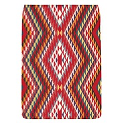 Indian Pattern Sweet Triangle Red Orange Purple Rainbow Flap Covers (s)