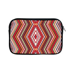 Indian Pattern Sweet Triangle Red Orange Purple Rainbow Apple Ipad Mini Zipper Cases by Alisyart