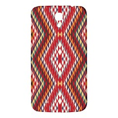 Indian Pattern Sweet Triangle Red Orange Purple Rainbow Samsung Galaxy Mega I9200 Hardshell Back Case