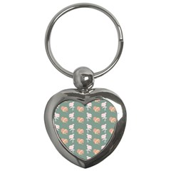 Lifestyle Repeat Girl Woman Female Key Chains (heart)  by Alisyart