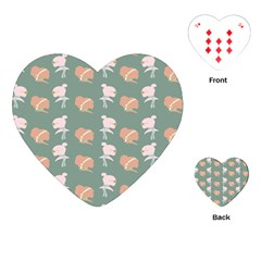 Lifestyle Repeat Girl Woman Female Playing Cards (heart)  by Alisyart