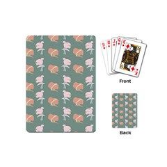 Lifestyle Repeat Girl Woman Female Playing Cards (mini)