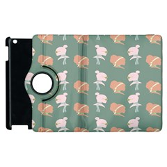 Lifestyle Repeat Girl Woman Female Apple Ipad 2 Flip 360 Case by Alisyart