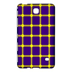 Optical Illusions Circle Line Yellow Blue Samsung Galaxy Tab 4 (7 ) Hardshell Case