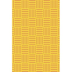 Plaid Line Orange Yellow 5 5  X 8 5  Notebooks by Alisyart