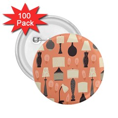 Lamps 2 25  Buttons (100 Pack)