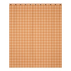 Orange Tablecloth Plaid Line Shower Curtain 60  X 72  (medium)  by Alisyart