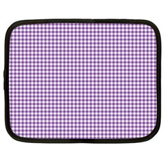 Purple Tablecloth Plaid Line Netbook Case (xxl)  by Alisyart