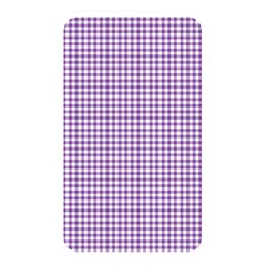 Purple Tablecloth Plaid Line Memory Card Reader by Alisyart