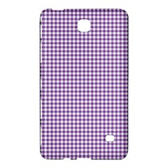 Purple Tablecloth Plaid Line Samsung Galaxy Tab 4 (7 ) Hardshell Case  by Alisyart