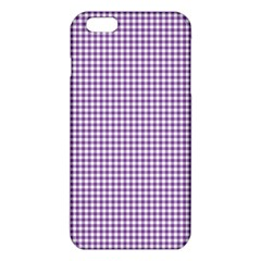 Purple Tablecloth Plaid Line Iphone 6 Plus/6s Plus Tpu Case