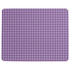 Purple Tablecloth Plaid Line Jigsaw Puzzle Photo Stand (rectangular)