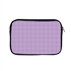 Purple Tablecloth Plaid Line Apple Macbook Pro 15  Zipper Case by Alisyart