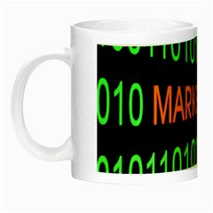 Marketing Runing Number Night Luminous Mugs by Alisyart