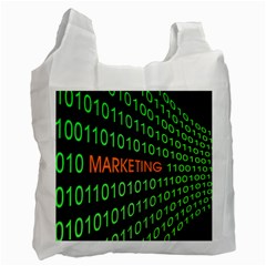 Marketing Runing Number Recycle Bag (two Side)  by Alisyart