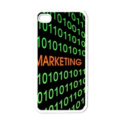 Marketing Runing Number Apple Iphone 4 Case (white)