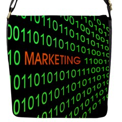 Marketing Runing Number Flap Messenger Bag (s)