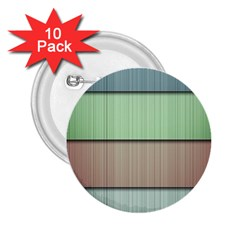 Modern Texture Blue Green Red Grey Chevron Wave Line 2 25  Buttons (10 Pack)
