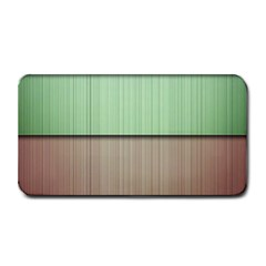 Modern Texture Blue Green Red Grey Chevron Wave Line Medium Bar Mats