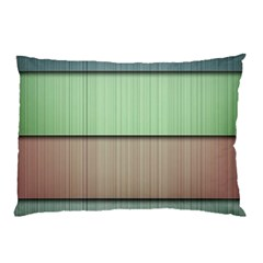 Modern Texture Blue Green Red Grey Chevron Wave Line Pillow Case by Alisyart