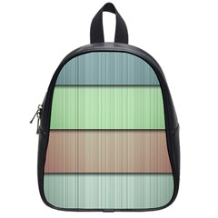 Modern Texture Blue Green Red Grey Chevron Wave Line School Bags (small)  by Alisyart