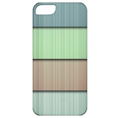 Modern Texture Blue Green Red Grey Chevron Wave Line Apple Iphone 5 Classic Hardshell Case by Alisyart