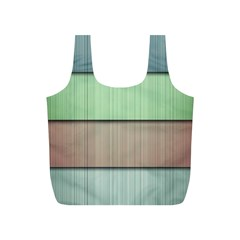 Modern Texture Blue Green Red Grey Chevron Wave Line Full Print Recycle Bags (s)  by Alisyart