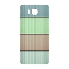Modern Texture Blue Green Red Grey Chevron Wave Line Samsung Galaxy Alpha Hardshell Back Case