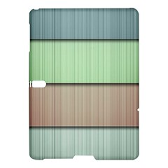 Modern Texture Blue Green Red Grey Chevron Wave Line Samsung Galaxy Tab S (10 5 ) Hardshell Case  by Alisyart