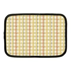 Tomboy Line Yellow Red Netbook Case (medium)  by Alisyart