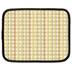 Tomboy Line Yellow Red Netbook Case (large) by Alisyart