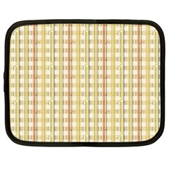 Tomboy Line Yellow Red Netbook Case (xxl)