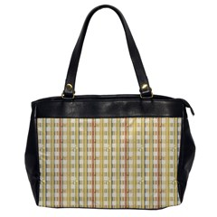 Tomboy Line Yellow Red Office Handbags