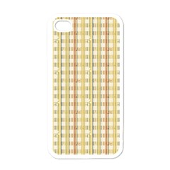 Tomboy Line Yellow Red Apple Iphone 4 Case (white) by Alisyart