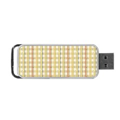 Tomboy Line Yellow Red Portable Usb Flash (two Sides) by Alisyart